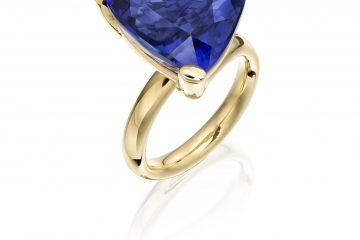 Tanzanite winter blues