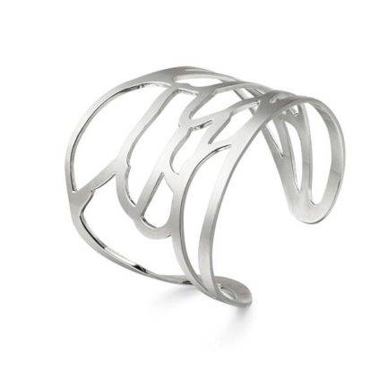 Bee wing cuff sterling silver, rose gold plated